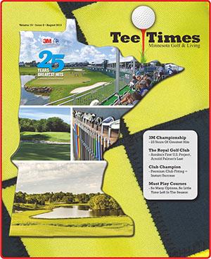 Minnesota Tee Times Magazine August 2017