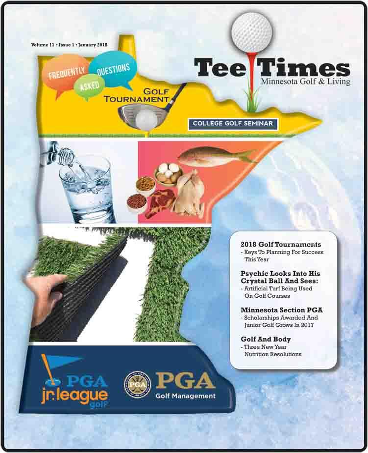 Tee Times Magazine Minnesota December 2017