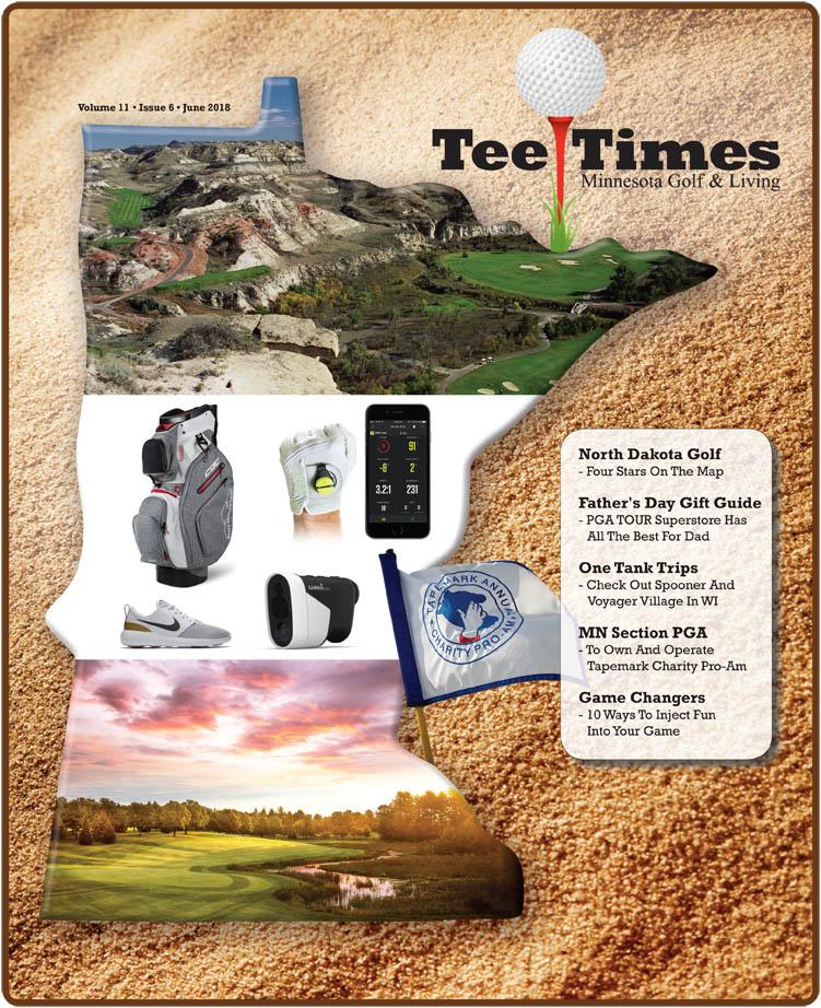 Tee Times Magazine Minnesota March 2018