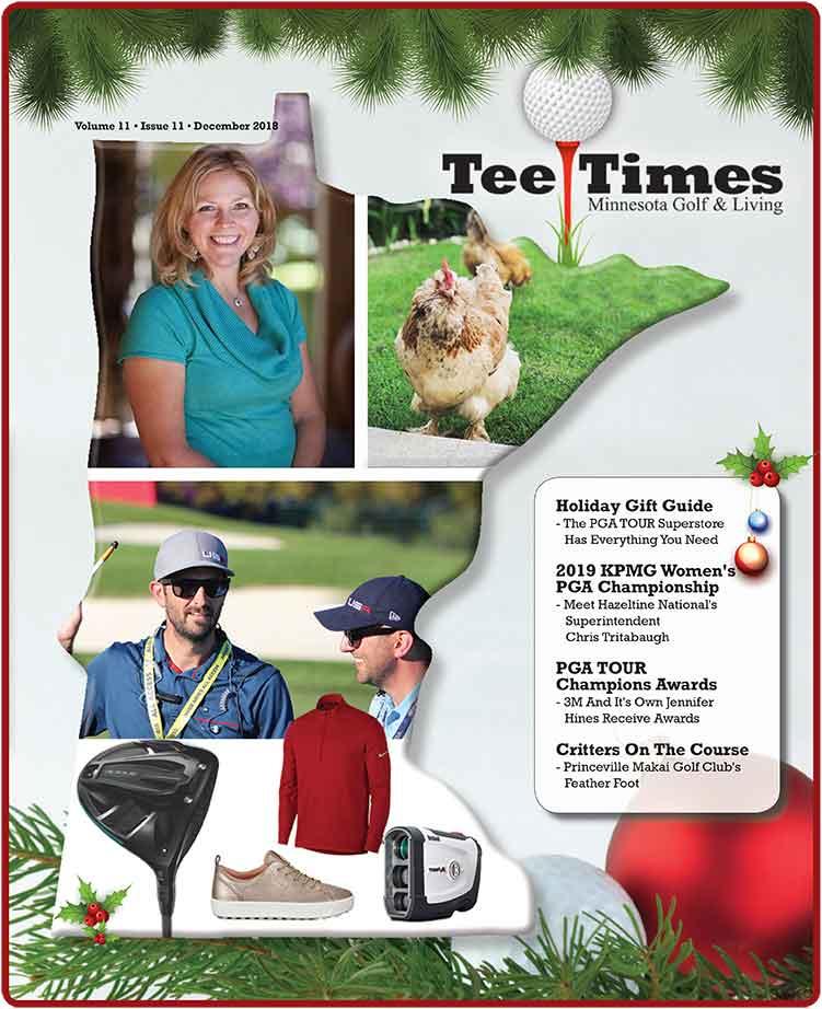 Tee Times Magazine Minnesota April 2018