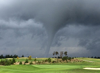Tornadoes On The Golf Course