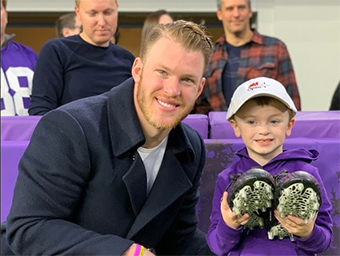 3M Open Partners With Vikings' Kyle Rudolph For NFL's My Cause, My Cleats Week